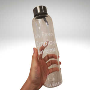 Personalised Clear Bottle